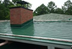 学校屋根塗装工事