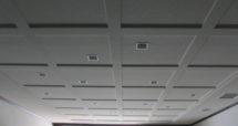 ゴルフ場 内部天井下地処理(吹付施工)
