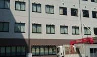 病院壁面塗装改修工事